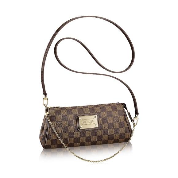 bbe995dd7ae8 Louis Vuitton Handbags - AUTHENTIC Louis Vuitton Eva Damier Crossbody
